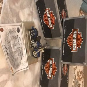 Set of 3 Harley Davidson replicas